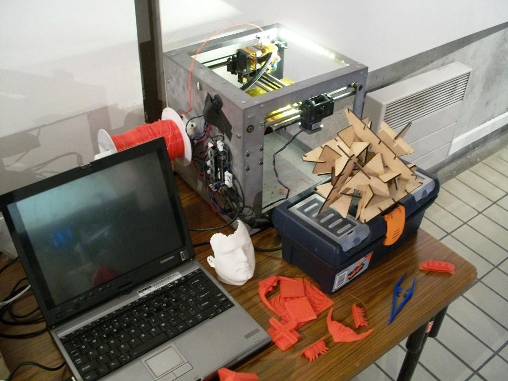 Agora12 - atelier prototypage rapide
